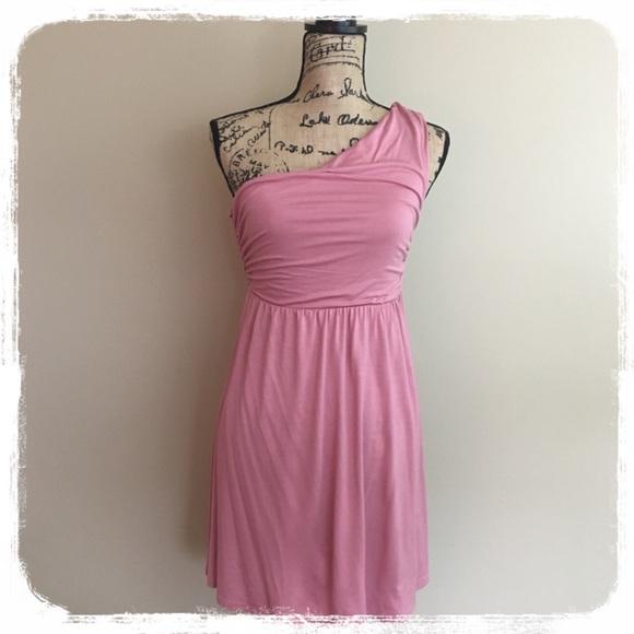 bf25051654f NWT entro Off-Shoulder Pink Dress sz. s